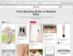 http://www.pinterest.com/ksblondie16/from-blushing-bride-to-wedded-wife/