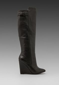 wedge boots, wedg boot