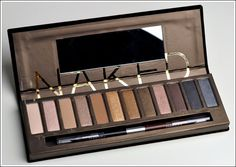 Urban Decay Naked Palette - best investment in eyeshadow ever ;-)