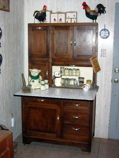 Image detail for -Two Hoosier cabinets will cross the block during the sale, including ...
