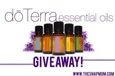 dōTerra Essential Oils GIVEAWAY | The Snap MomThe Snap Mom