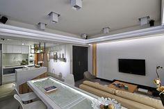 Furniture Layout Perfectly Defining Living Spaces: Matrix Residence in Taipei architekturame