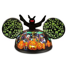 Mickey Mouse and Friends Halloween Ear Hat for Adults