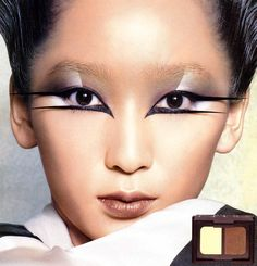 Anne Watanabe for NARS Cosmetics Autumn/Winter 2006 campaign; makeup by François Nars