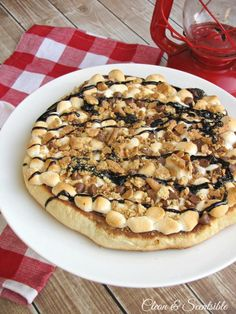 Smores Pizza - Perf