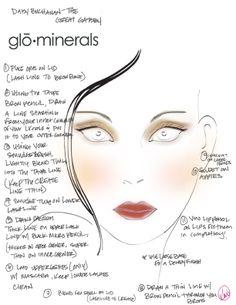 Daisy Buchanan makeup tutorial
