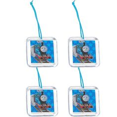 Thomas the Train Birthday Party Supplies - Zipper Pull Party Favors