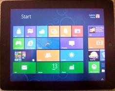 Run Windows 8 on your iPad