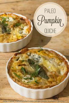 Paleo Pumpkin Quiche