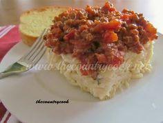 Spasagna (part spaghetti, part lasagna but all easy!)