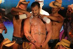 Randy Blue star Austin Wolf (Austin Wolftwo on Facebook) Takes it like a Man!