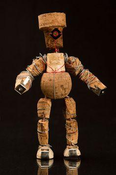 Monocle Man by Corkmen on Etsy, $30.00