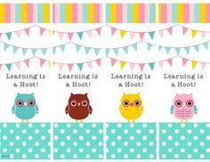 Celebrate learning with FREE owl-themed bookmarks!