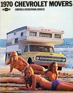 1970 Chevrolet Pickup Truck with Camper