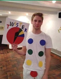 twister, the game, halloween costume ideas, funny halloween costumes, favor, friend, halloween ideas, funny costumes, parti