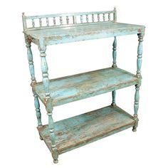 Rustic Kitchen Shelf