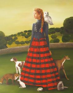 The Quiet Country Life by Janet Hill.