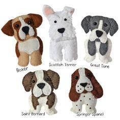 Felt Dogs On Pinterest Felt Dogs Dog Pattern And