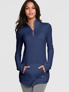 Victoria's Secret Fleece Zip Tunic . $55.50 list.
