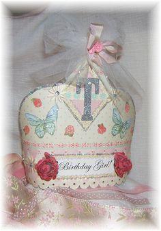 birthday girl paper crown
