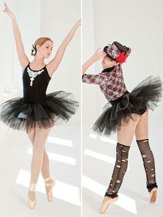 Black Magic - Style 0256 | Revolution Dancewear All-in-One Dance Recital Costume