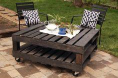 5 muebles de jardín con palets | Hacer bricolaje es facilisimo.com
