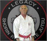 Gary Legacy my Sensei. Shorin Ryu