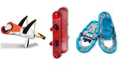These outdoor toys for the winter are so much fun (now we just need snow!).