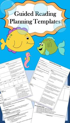 I have combined both of the guided reading planning templates that I use into one great bundle. In this way you have two great options to fit your needs and preferences!