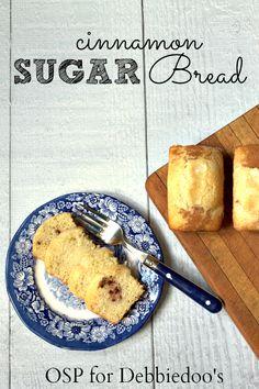 work food, drink, breads, cinnamon sugar bread, recip, quick bread, sweet bread, dessert