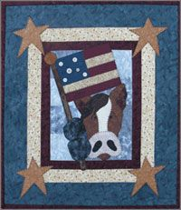 Patriotic Horse Applique Wallhanging Pattern by The Wooden Bear at KayeWood.com. http://www.kayewood.com/item/Patriotic_Horse_Applique_Wallhanging_Pattern/3588 $8.00