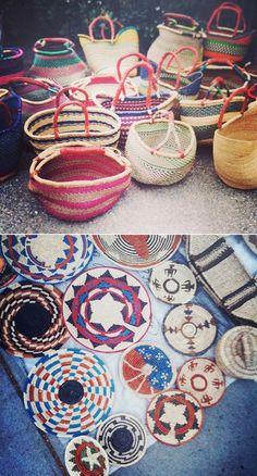 Ghanaian Baskets