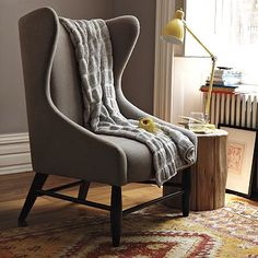 West Elm wingback