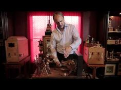 Fascinating hand made machines (automata).