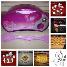 Easy Bake oven recipes for Zoe. She loves her Easy Bake Oven!!!