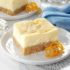 Orange-Swirled Cheesecake Dessert Recipe