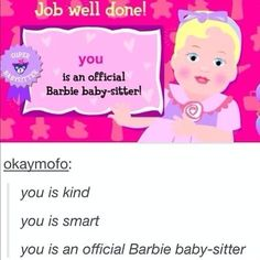 1) this is great.  2) IM HAVING DE JÀ VU OF THIS BARBIE GAME SO HARD RIGHT NOW.