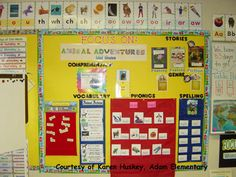 HM 1st Grade focus wall