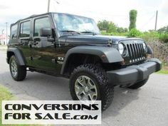 2007 Lifted Jeep Wrangler Unlimited X