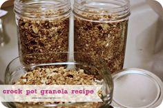 Crock Pot Granola Recipe