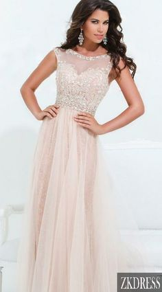 Illusion neckline with sweetheart bodice