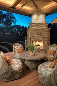 As the days begin to shorten, deck and porch lighting extends the use of your outdoor space.