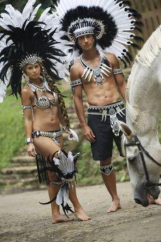 Dancers la raza, carnival costumes, tribal aztec, aztec indian, brown pride, viva la, indian photo