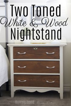 Two Toned White and