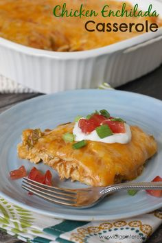 I Dig Pinterest: Easy Chicken Enchilada Casserole: Help a School with Campbell's Labels for Education #labels4edu #cbias
