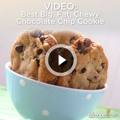 Http Allrecipes Com Recipe  Best Big Fat Chewy Chocolate Chip Cookie