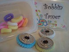 thread spools, sewing machines, poni, craft, bobbin tamer