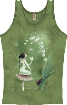 Lily of the Valley Fashion Tank - pagan wiccan witchcraft magick ritual supplies