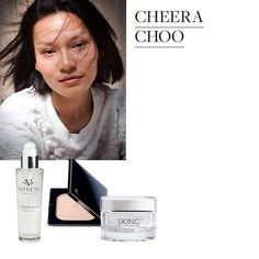 """In an August  Style.com piece featuring Thai models and their favorite heat-resistant beauty products, Bangkok model Cheera Choo says she keeps Votre Vu's À Votre Santé toner-sérum spray in her purse to mist over her face throughout the day. """"It's such a great pick-me-up,"""" she notes, """"especially when you're running around in the heat.""""   Sweat-Proof Summer Beauty Secrets"""