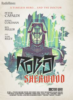 Doctor Who Retro Poster: Robot of Sherwood - Series 8 Episode 3